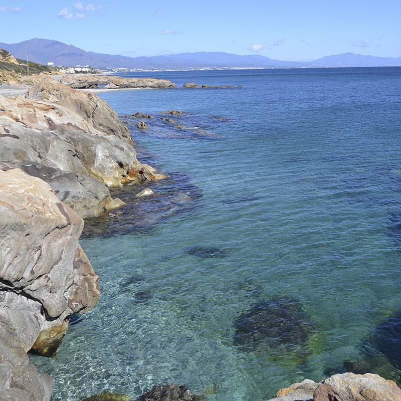 Playa de Punta Chullera (Manilva)